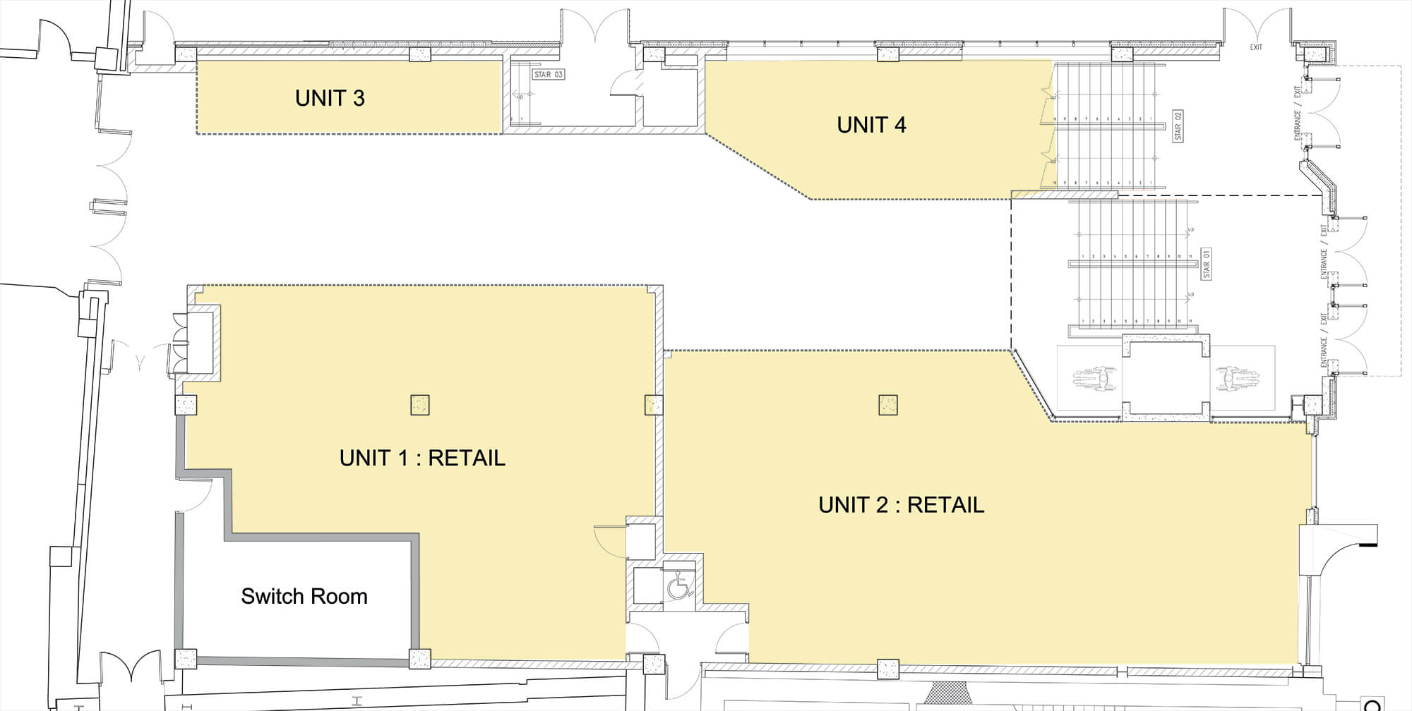 Photo convenience store floor plan images convenience for Retail store layout software