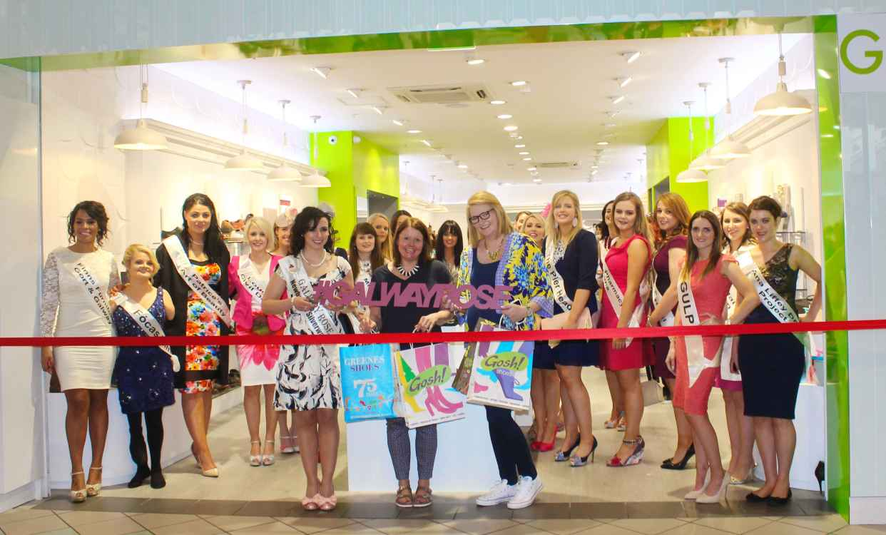 Galway Rose Opens Gosh Shoes