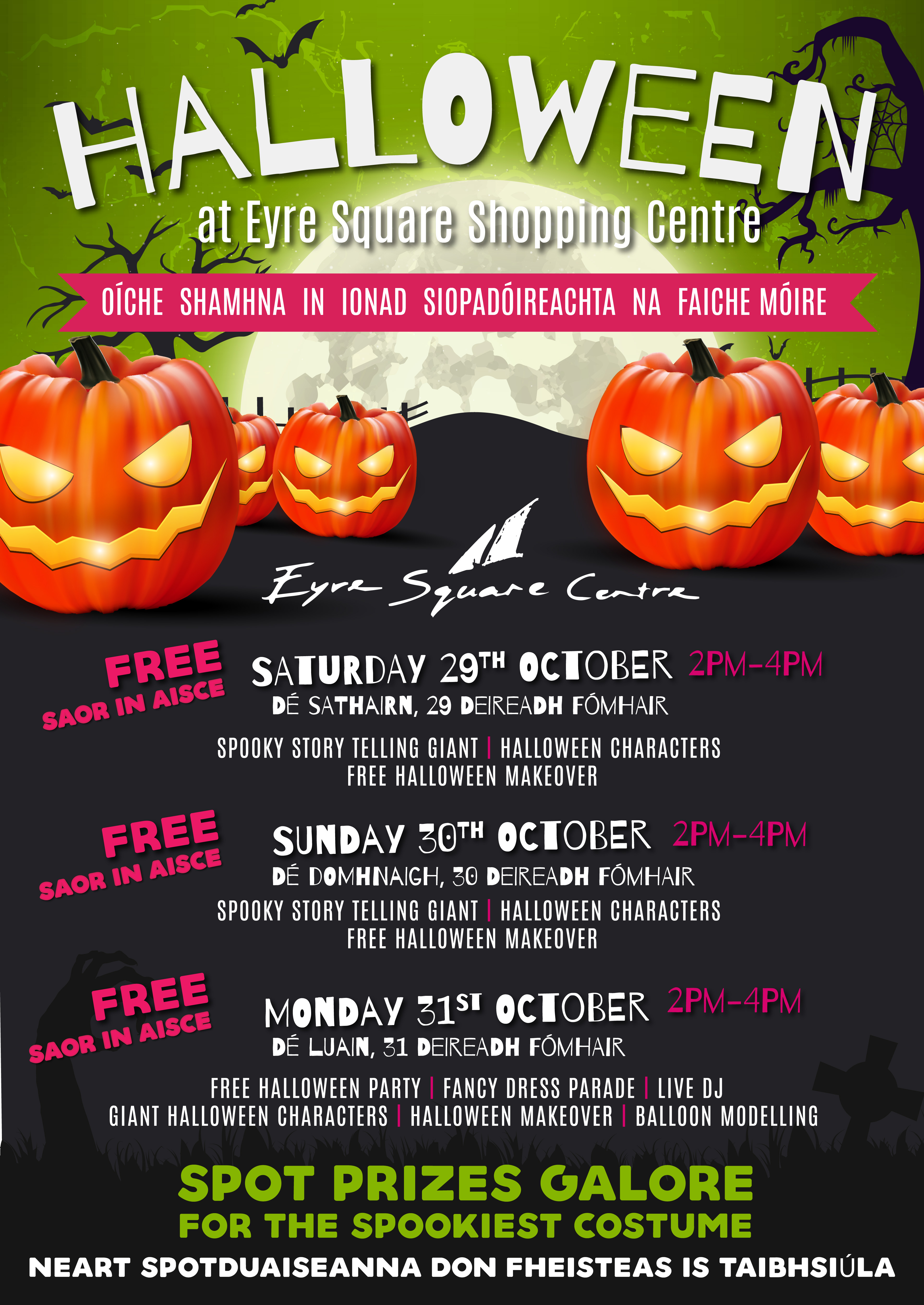 Halloween Event - Eyre Square Centre