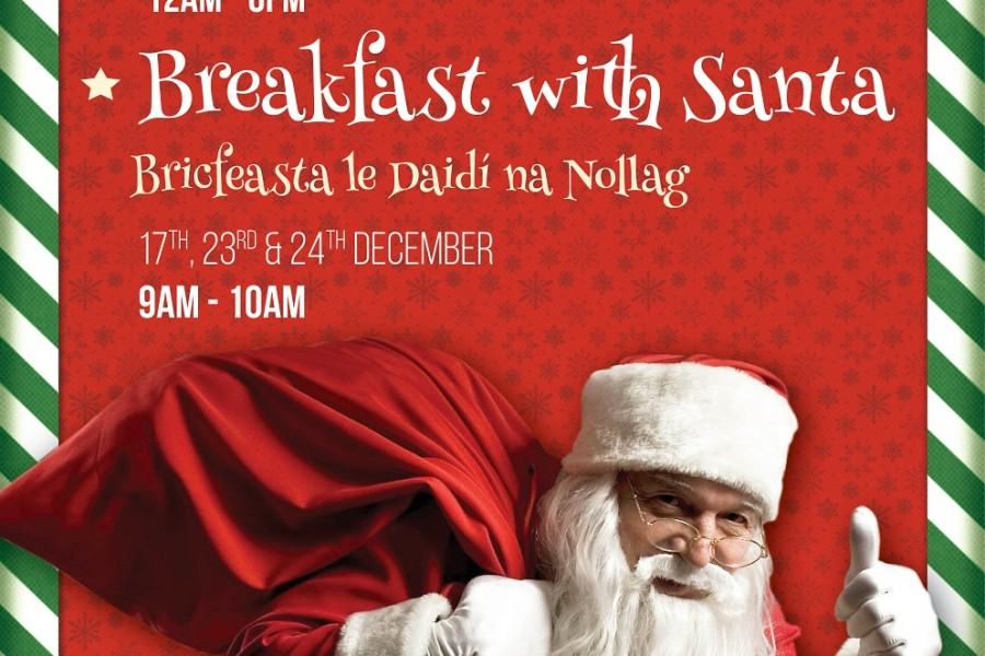 Visit Santa in the Eyre Square Shopping Centre 2016