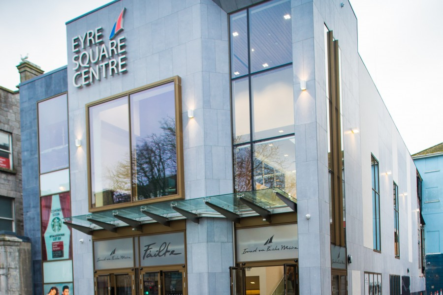 The Opening of the Eyre Square Shopping Centre Entrance