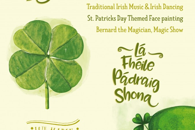 St. Patrick's Day Free Entertainment 2017