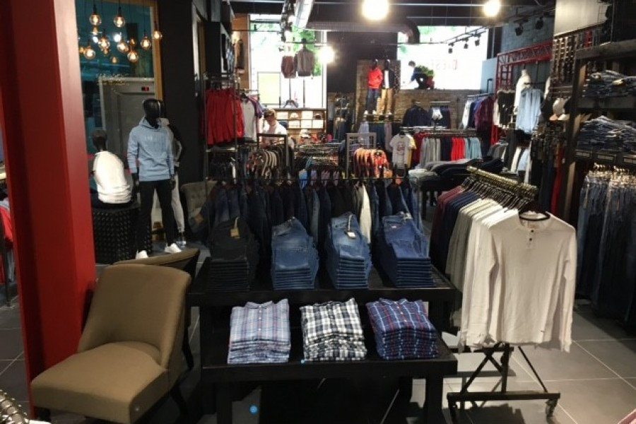 Diesel have opened in the Eyre Square Shopping Centre