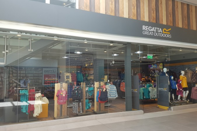 Regatta have opened in the Eyre Square Shopping Centre