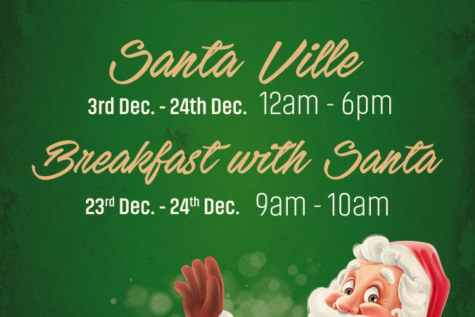 Visit Santa in the Eyre Square Shopping Centre 2017