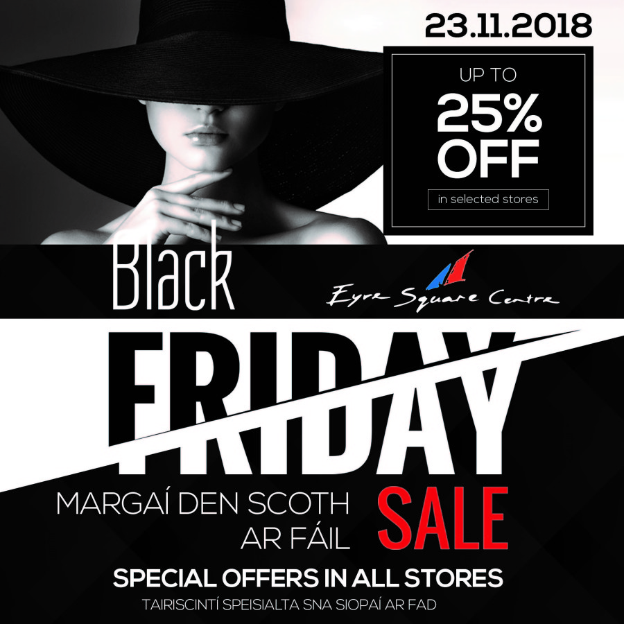 Black Friday 23rd November 2018