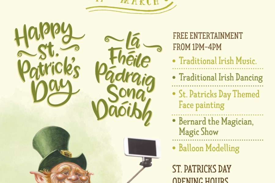 St. Patrick's Day – 17th March 2019