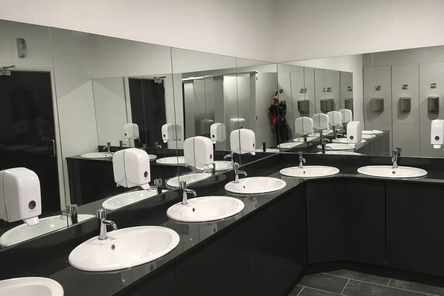 Newly Refurbished and Extended Public Bathrooms