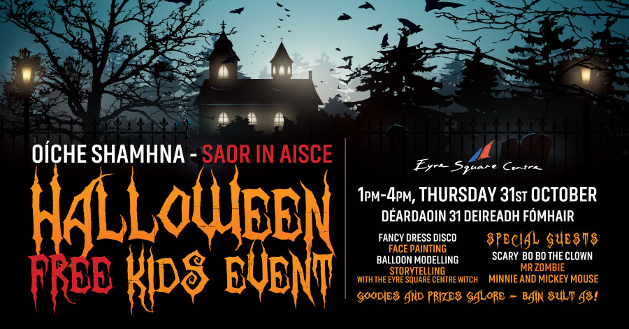 Eyre Square Shopping Centre Halloween Event 31st October 2019