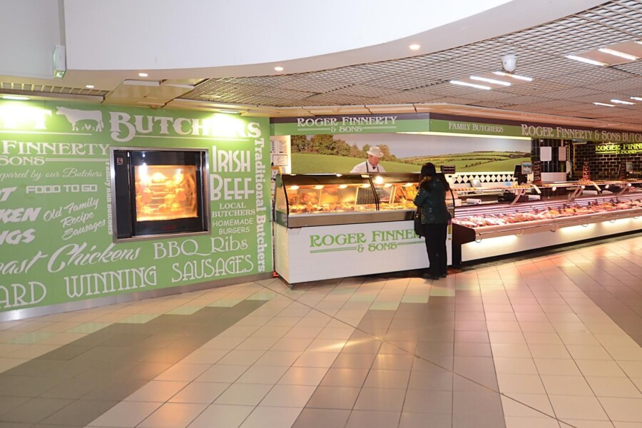 Essential Shops opened in Eyre Sqaure Shopping Centre 18th May 2020