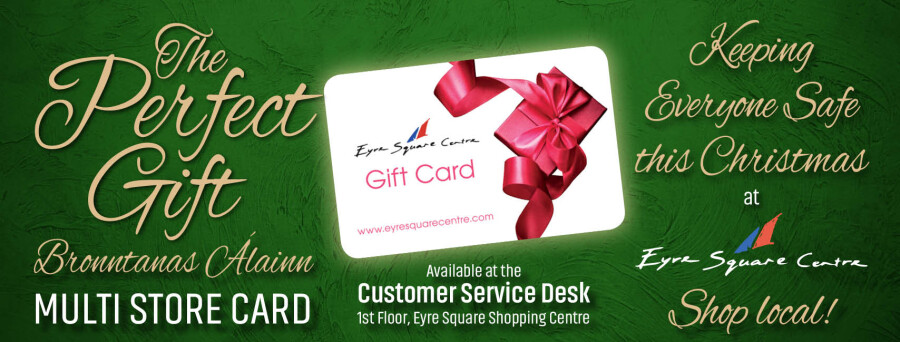 Eyre Square shopping Centre Gift Card