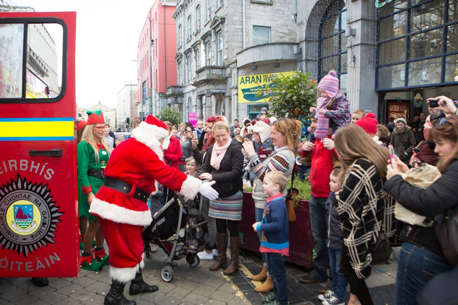 Christmas 2014 at the Eyre Square Centre