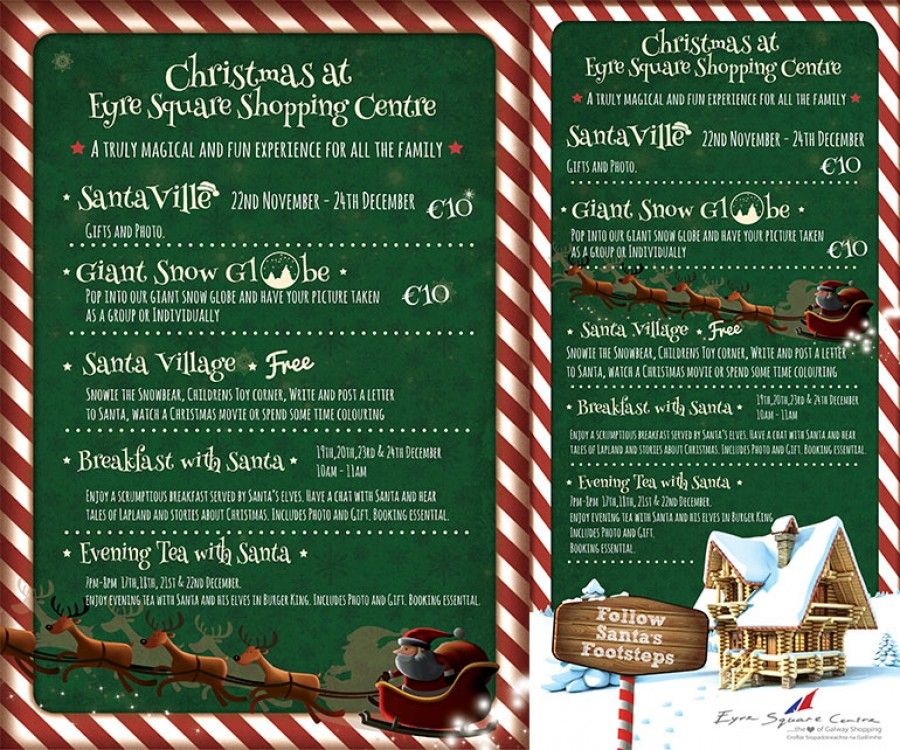 Christmas 2015 At Eyre Square Centre