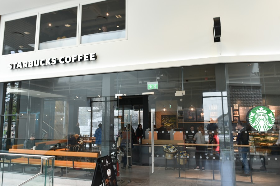 Starbucks have opened in the Eyre Square Shopping Centre