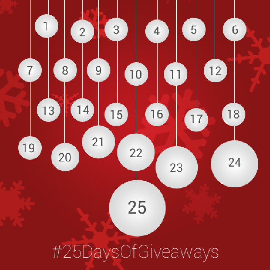 25 Days of Christmas Giveaways