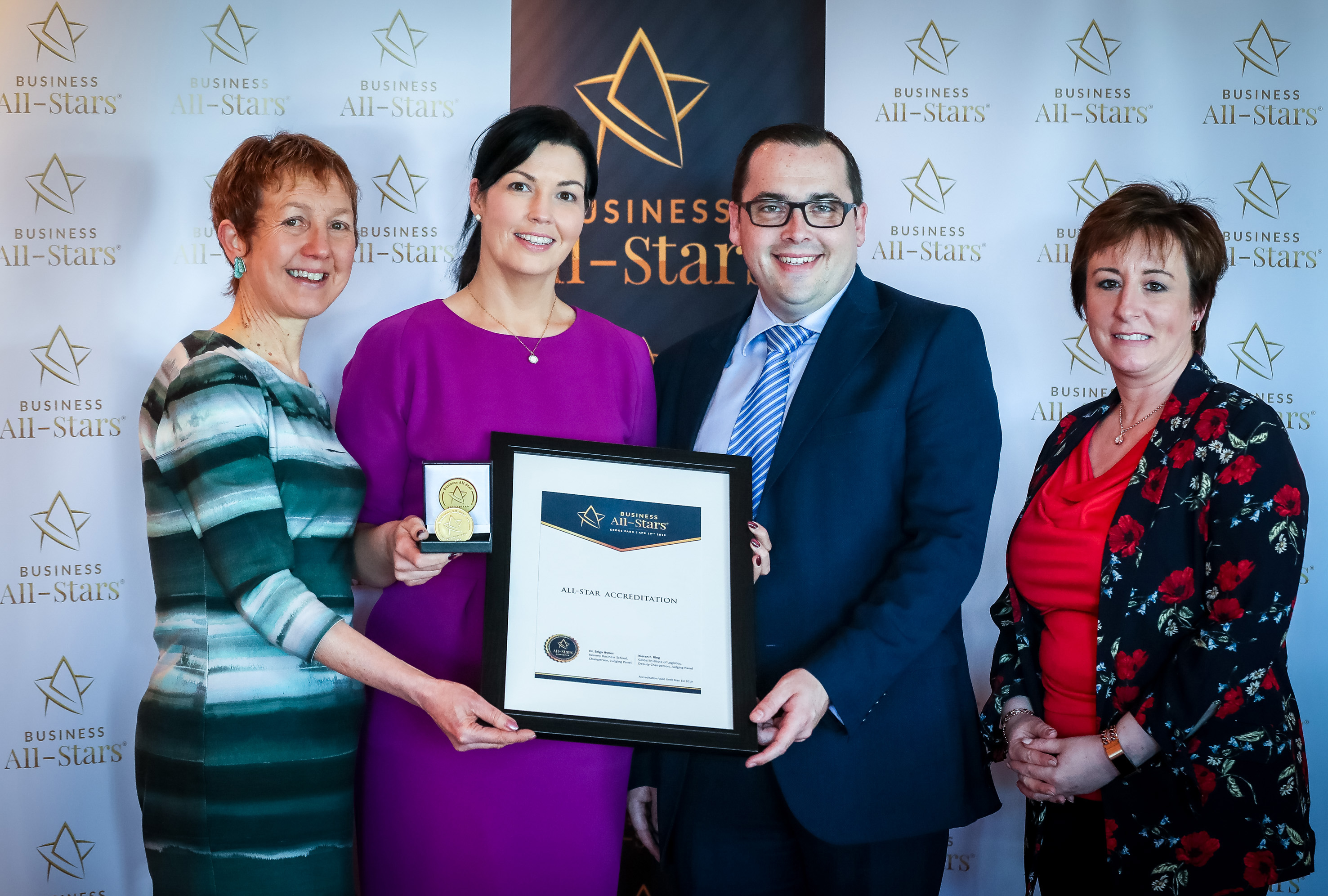 19-4-18 All Ireland Business Summit, Business All Stars in Croke Park. Picture: Keith Wiseman