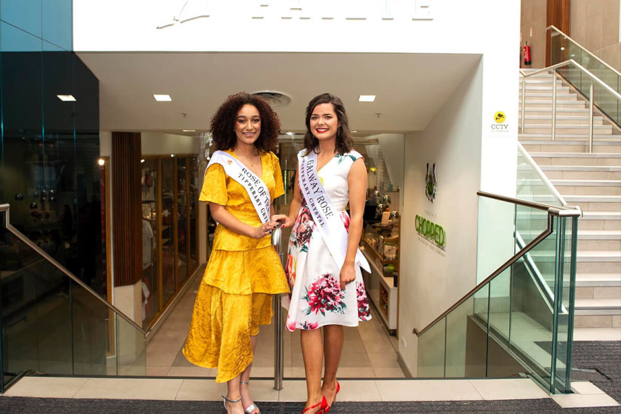 Eyre Square Centre Sponsors The Galway Rose